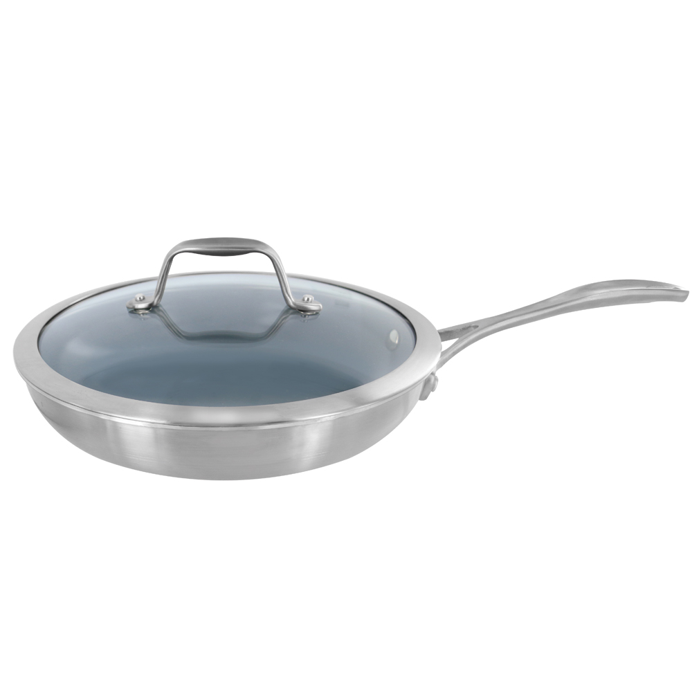 Zwilling Spirit 3 Ply 9 5 Quot Stainless Steel Ceramic