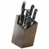 'ZWILLING Pro 8-pc Knife Block Set' from the web at 'https://sep.yimg.com/ay/yhst-21889767164414/zwilling-pro-8-pc-knife-block-set-4.jpg'