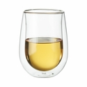 ZWILLING Sorrento 2-pc Double Wall Stemless White Wine Glass Set