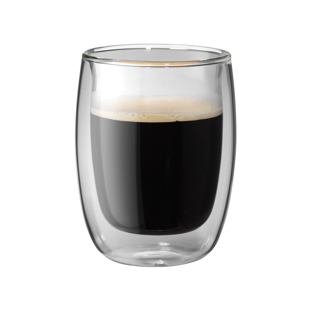 Espresso Coffee Glass ~ Zwilling sorrento pc double wall glass coffee cup set