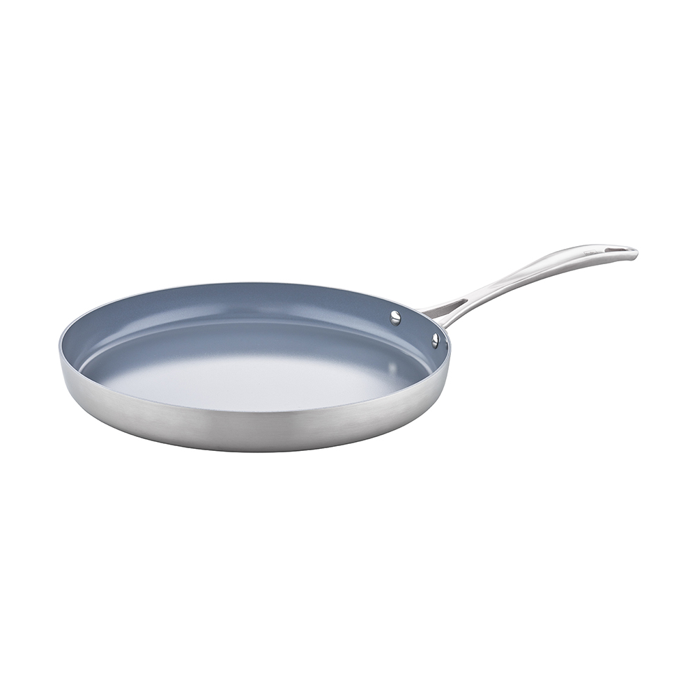Zwilling Spirit 3 Ply 12 Quot Stainless Steel Ceramic Nonstick
