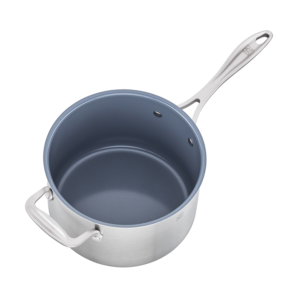 Zwilling 174 Spirit Saucepan 4qt With Lid Thermolon Coated