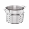 ZWILLING Spirit 3-ply 6-qt Stainless Steel Pasta Insert (Fits 6-qt Dutch Oven)