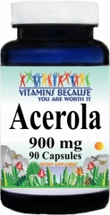 0019 Acerola 900mg 90caps Buy 1 Get 2 Free