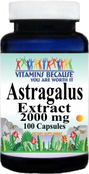 0194 Astragalus Extract 2000mg 100caps Buy 1 Get 2 Free