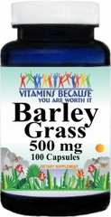 0248 Barley Grass 500mg 100caps Buy 1 Get 2 Free