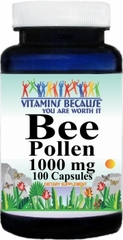 0279 Bee Pollen 1000mg 100caps Buy 1 Get 2 Free