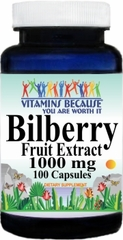 0309 Bilberry Extract 1000mg 100caps Buy 1 Get 2 Free