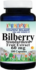 0323 Bilberry Standardized Extract 60mg 100caps Buy 1 Get 2 Free