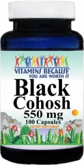 0361 Black Cohosh 550mg 100caps Buy 1 Get 2 Free