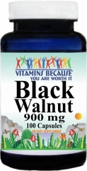 0415 Black Walnut 900mg 100caps Buy 1 Get 2 Free