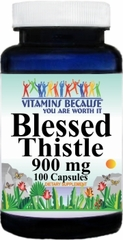 0439 Blessed Thistle 900mg 100caps Buy 1 Get 2 Free