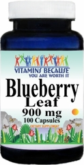 0453 Blueberry Leaf 900mg 100caps Buy 1 Get 2 Free