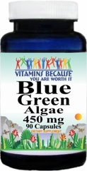 0477 Blue Green Algae 450mg 90caps Buy 1 Get 2 Free