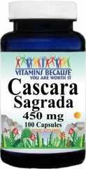 0606 Cascara Sagrada 450mg 100caps Buy 1 Get 2 Free