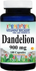 0910 Dandelion 900mg 100caps Buy 1 Get 2 Free