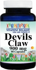 0934 Devils Claw 900mg 90caps Buy 1 Get 2 Free