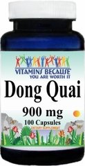 0941 Dong Quai 900mg 100caps Buy 1 Get 2 Free