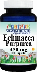 0989 Echinacea Purpurea Root 450mg 100caps Buy 1 Get 2 Free