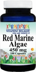 10063 Red Marine Algae 450mg 100caps Buy 1 Get 2 Free