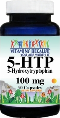 10315 5-HTP 100mg 90caps Buy 1 Get 2 Free