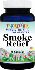 10339 Smoke Relief 90caps Buy 1 Get 2 Free