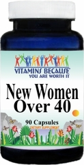 10384 New Women Over 40 90caps Buy 1 Get 2 Free