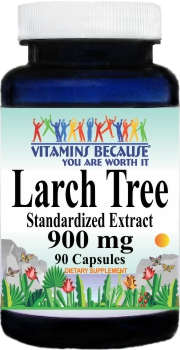 10469 Larch Tree Extract 900mg 90caps Buy 1 Get 2 Free