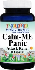 10483 Calm-Me Panic Attack Relief 90caps Buy 1 Get 2 Free