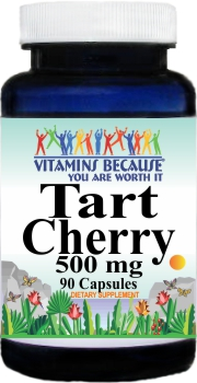 10490 Tart Cherry 500mg 90caps Buy 1 Get 2 Free