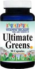 10520 Ultimate Greens 90caps Buy 1 Get 2 Free