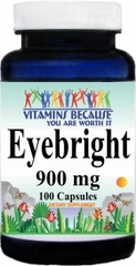 1054 Eyebright 900mg 100caps Buy 1 Get 2 Free