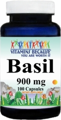 10599 Basil 900mg 100caps Buy 1 Get 2 Free