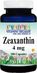 10629 Zeaxanthin 4mg 100caps Buy 1 Get 2 Free