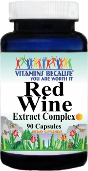 10643 Red Wine Extract Complex 90caps Buy 1 Get 2 Free
