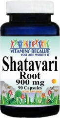 10711 Shatavari Root 900mg 90caps Buy 1 Get 2 Free