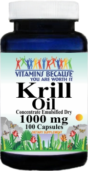 10735 Krill Oil 1000mg 100caps Buy 1 Get 2 Free