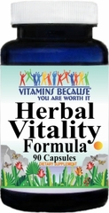 10780 Herbal Vitality Formula 90caps Buy 1 Get 2 Free