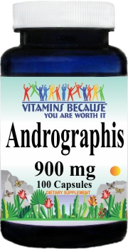10896 Andrographis 900mg 100caps Buy 1 Get 2 Free