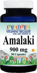 10902 Amalaki 900mg 90caps Buy 1 Get 2 Free