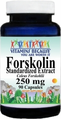 10957 Forskolin 250mg 90caps Buy 1 Get 2 Free
