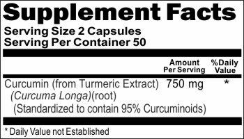 10971 Curcumin 750mg 100caps Buy 1 Get 2 Free