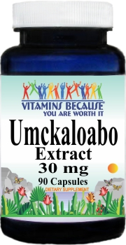 10995 Umckaloabo Extract 30mg 90caps Buy 1 Get 2 Free