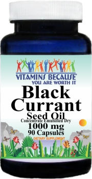 11022 Black Currant Seed Oil 1000mg 90caps Buy 1 Get 2 Free