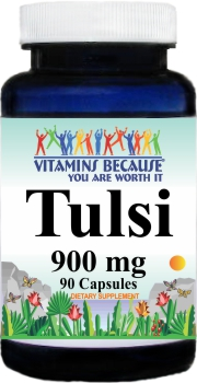 11039 Tulsi 900mg 90caps Buy 1 Get 2 Free