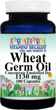 11046 Wheat Germ Oil 1130mg 100caps Buy 1 Get 2 Free