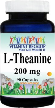 11091 L-Theanine 200mg 90caps Buy 1 Get 2 Free