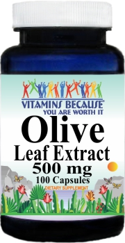 11114 Olive Leaf Extract 500mg 100caps Buy 1 Get 2 Free