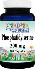 11138 Phosphatidylserine 200mg 100caps Buy 1 Get 2 Free