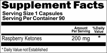 11237 Raspberry Ketones 200mg 90caps Buy 1 Get 2 Free